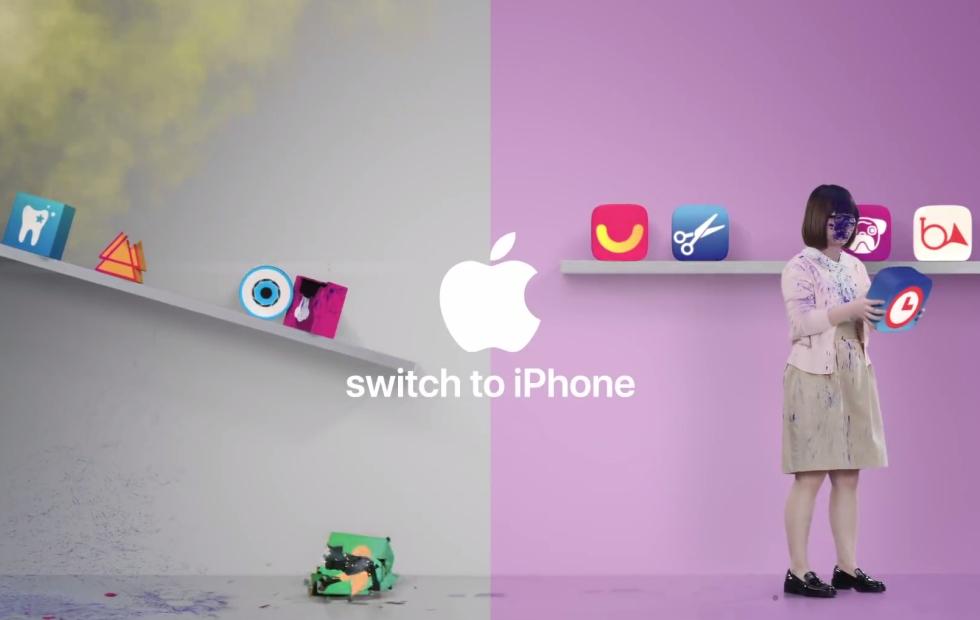苹果换机广告-Switch to iPhone系列
