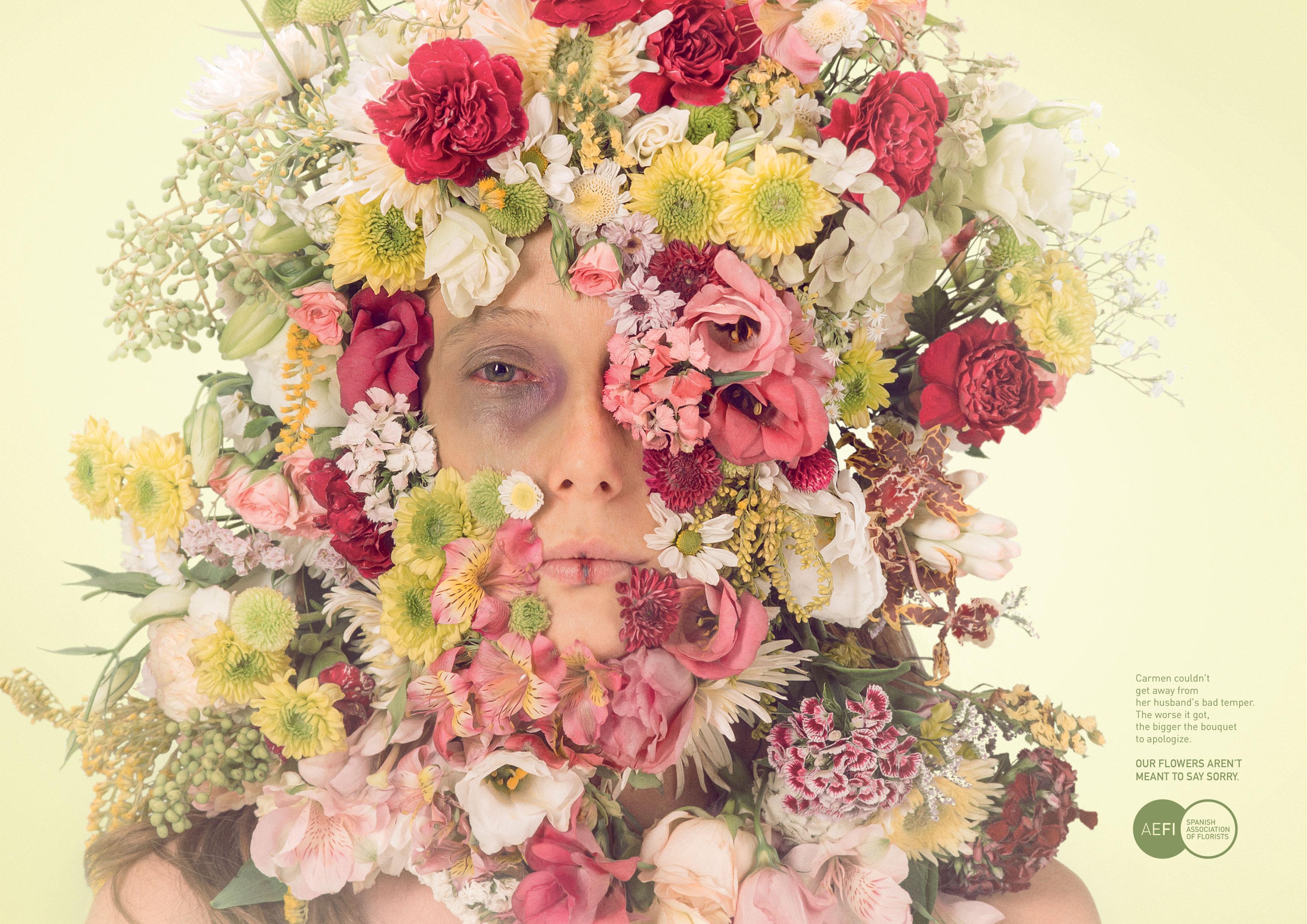 西班牙花店协会-鲜花不等于道歉