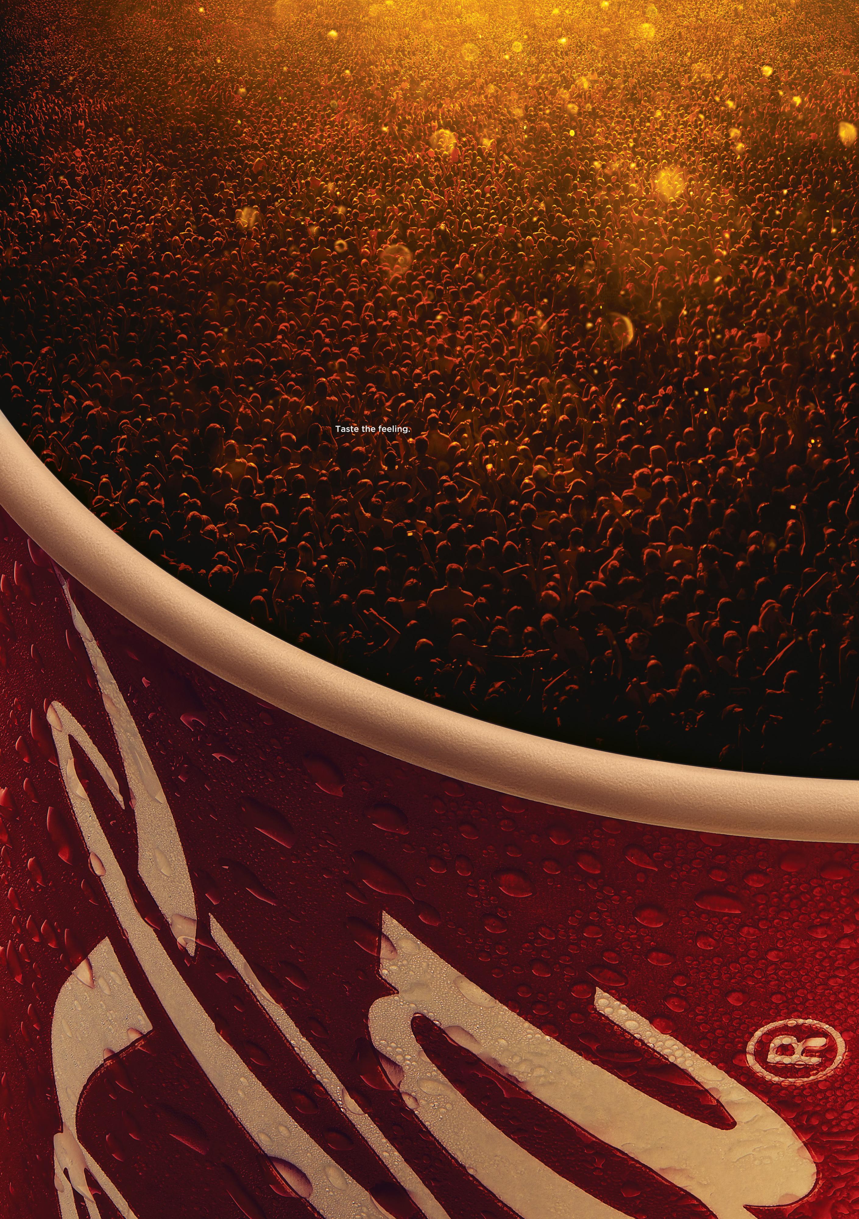可口可乐-欢庆的泡泡