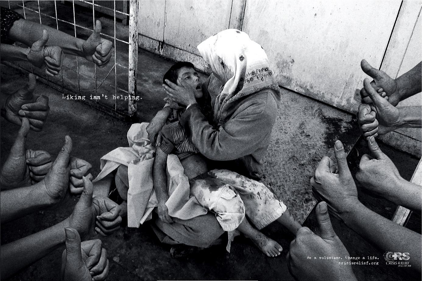 新加坡救灾组织-点赞并没什么用